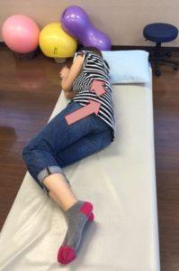 筋膜リリース閉脚制限1