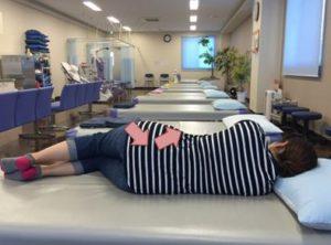 筋膜リリース閉脚制限2